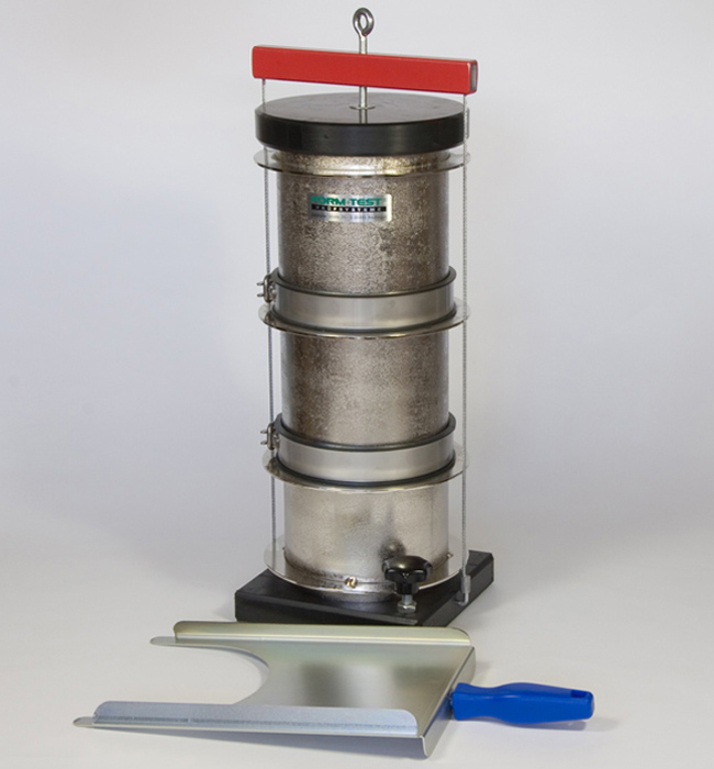 DEVICES FOR FRESH SELF-COMPACTING CONCRETE TESTING (SCC CONCRETE)